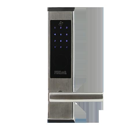 Khóa cửa điện tử mã số - thẻ cảm ứng KR7203 App (Bạc)