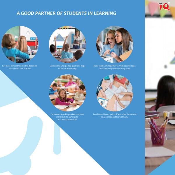 phần mềm giảng dạy IQ class