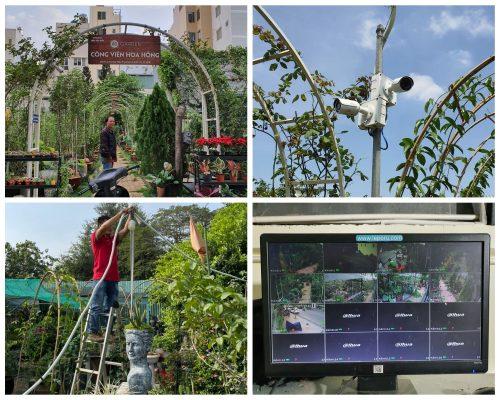JVS Lắp đặt camera hệ thống AQ Garden